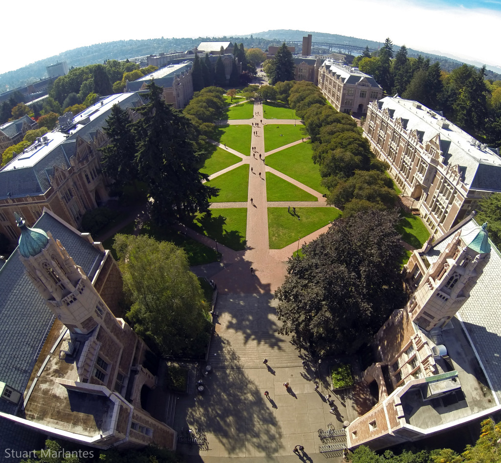 The UW Quad.