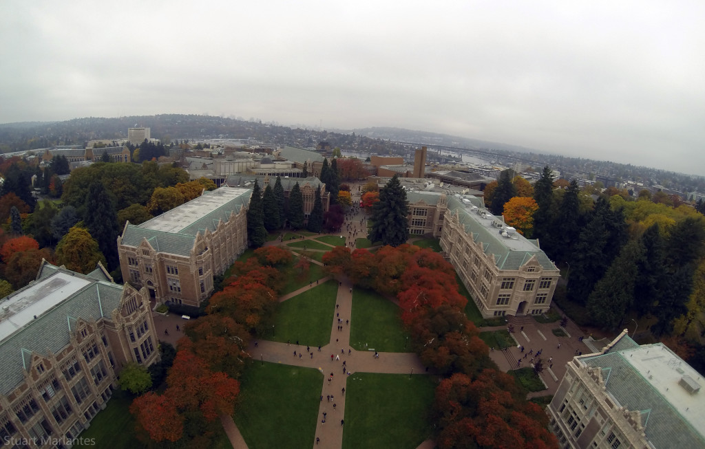 UW Quad in Autumn