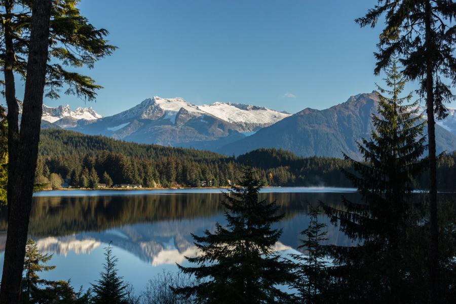 Auke Lake View